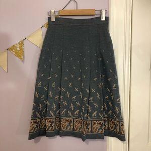 Vintage Midi Skirt